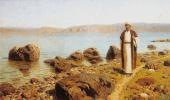 Василий Дмитриевич Поленов. На Тивериадском (Генисаретском) озере