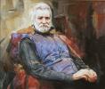 Портрет художника В.Бакумова
