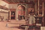 Цикл картин капеллы Скуола ди Сан Джорджио Скьявони, видение св. Августина