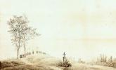 Каспар Давид Фридрих. Паломничество на закате