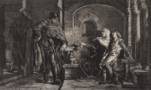 Ян Матейко. Гремислава с малолетним сыном Болеславом в темнице у Конрада Мазовецкого