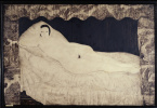 Цугухару Фудзита ( Леонар Фужита ). Лежащая обнаженная (Портрет обнаженной Кики)