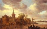 Ян ван Гойен. Облака