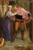 Полет Маделин и Порфиро, посещающих попойку накануне дня святой Агнессы. Фрагмент II