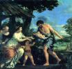 Нахождение Ромула и Рема Фаустулом