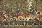 Морис Брэзил Прендергаст. Центральный парк в Нью-Йорке