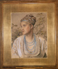 Mary Emma Jones, later Mrs. Frederick Sandys
