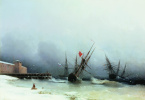 Ivan Aivazovsky. The signal of the storm