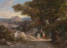 The road to the gorge, Civitella