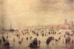 Хендрик Аверкамп. Катание на коньках