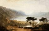 Джозеф Мэллорд Уильям Тёрнер. Вид Женевского озера со стороны Монтрё