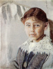 Портрет Оли Рыбаковой