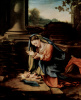 Мария, поклоняющаяся младенцу