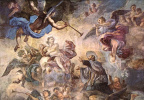 Франческо Солимена. Святой Кажетан успокаивает божественный гнев