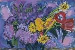 Цветы. Сирень и небо