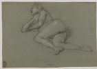 Reclining nude woman