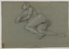 Reclining nude woman