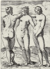 "The series of ""Sensuality"", the Three graces"