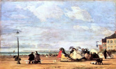 Empress Eugenie on the coast of Trouville