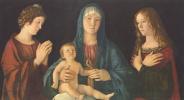 Мария с младенцем, Святой Екатериной и Святой Магдалиной