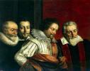 Групповой портрет четырех советников Парижского магистрата