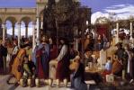 Julius shnorr fon Karol'sfel'd. The wedding feast at Cana