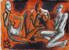 """""""Зангези, 1996, иллюстрация к одноименной поэме Хлебникова"""