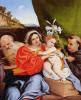 Мадонна со свв. Иеронимом и Антонием Падуанским