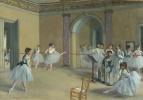 Edgar Degas. Ballet class Opera on the street Pelletier