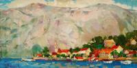 Adriatic 30x60 oil on canvas
