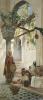 У входа в мечеть. 1883