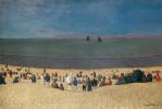 Феликс Валлоттон. Пляж в Онфлере