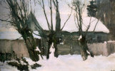 Николай Николаевич Сапунов. Зима