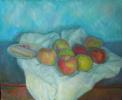 Яблоки и печенье