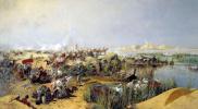 Переправа туркестанского отряда через Аму-Дарью в 1873 году