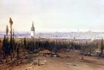 Эдуард Хильдебрандт. Вид Константинополя со стороны кладбища