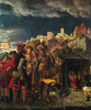 Житие св. Флориана, сцены из жития св. Флориана, пленение св. Флориана