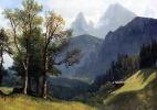 Альберт Бирштадт. Тирольский пейзаж
