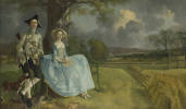 Thomas Gainsborough. Portrait of a couple Andrews