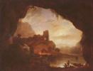 Пейзаж с крепостными руинами