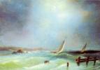 Alexey Petrovich Bogolyubov. Sea view