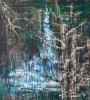 """Дождливая музыка леса"". Акрил. Холст. Rainy music of forest. Acrylic on Canvas."