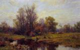 Хью Болтон Джонс. Лесной пейзаж