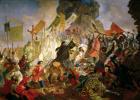 Карл Павлович Брюллов. Осада Пскова польским королем Стефаном Баторием в 1581 году