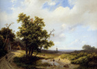 Маринус Куккук. Летний пейзаж