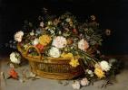 Ян Брейгель Младший. Корзина с цветами