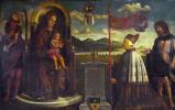 Венецианская Итальянский. Дева с младенцем и святыми