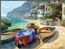 В Капри лодки