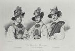 Адольф фон Менцель. Портрет трёх исполнителей тирольских песен К. Фишера, П. Швайцара и С. Лауфера