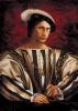 Портрет В.В.Путина в костюме времен Франциска I.